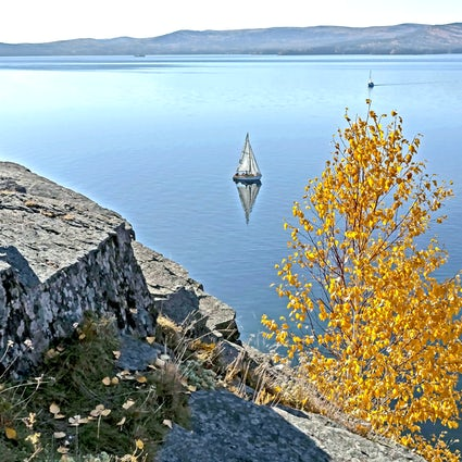 Lake Turgoyak - the younger brother of the Baikal near Miass