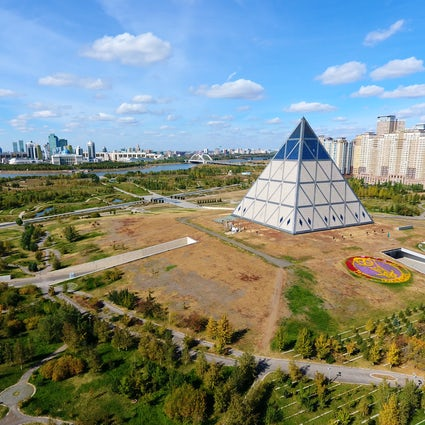 Pyramid – the Palace of Peace and Reconciliation in Nur-Sultan