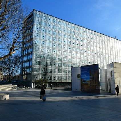 Remarkable buildings in Paris: Arab World Institute