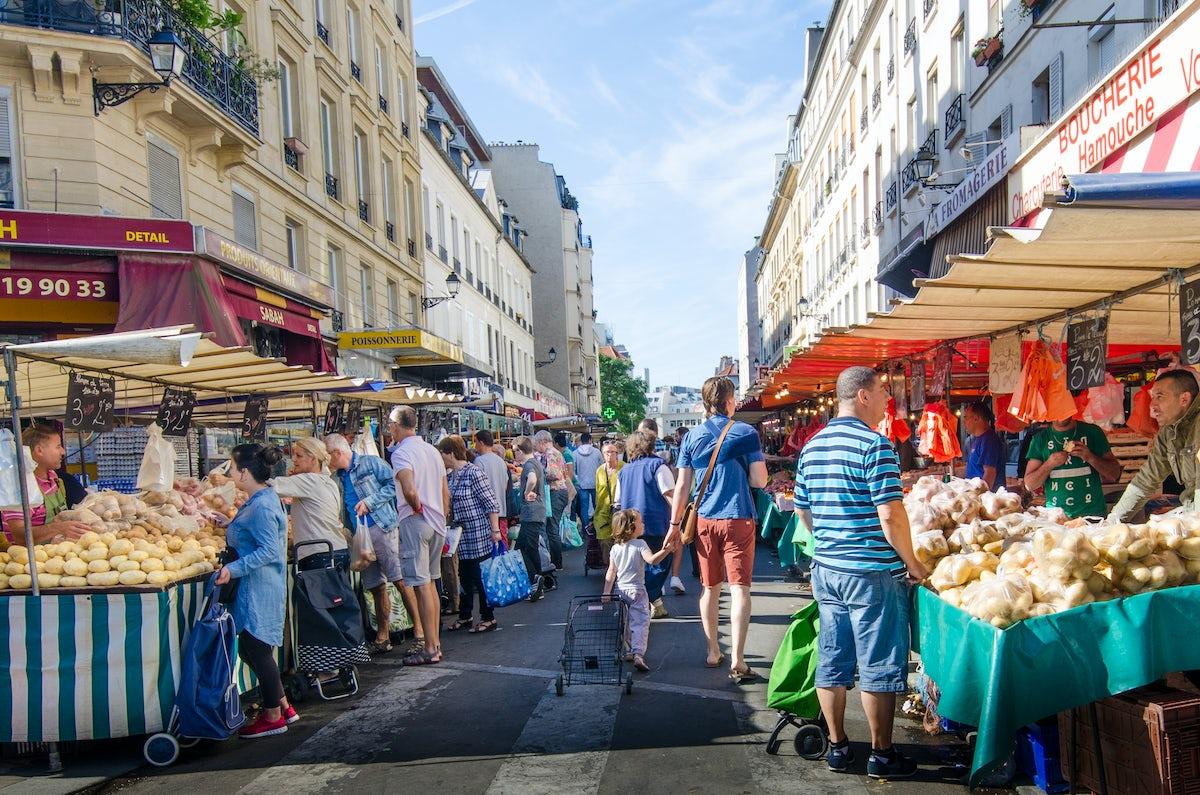 The best Paris markets: Aligre market