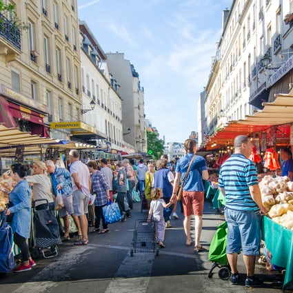 The best Paris markets: Aligre market