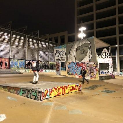 Paral-lel: the Barcelona skatepark