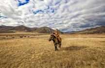 Horse riding in Almaty: be a Kazakh nomad for a day