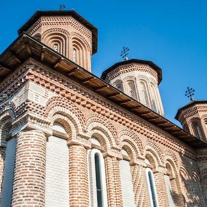 The sanctum of Snagov Monastery