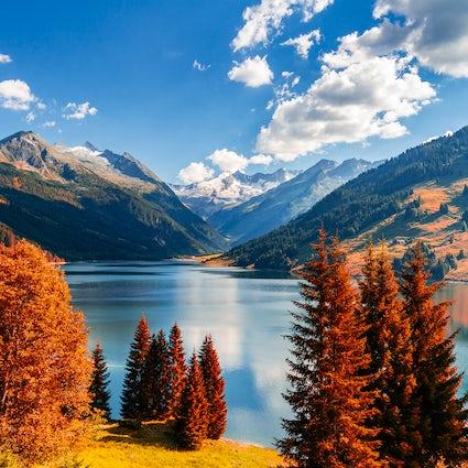 Le Lac Durlaßboden, une beauté faite par l'Homme