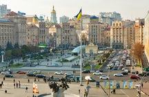 Maidan Nezalezhnosti Square, the heart and soul of  Ukraine