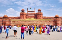 Old Delhi's mesmerizing Chandni Chowk & Red Fort