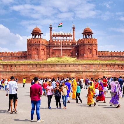 El fascinante Chandni Chowk y el Fuerte Rojo de la Vieja Delhi