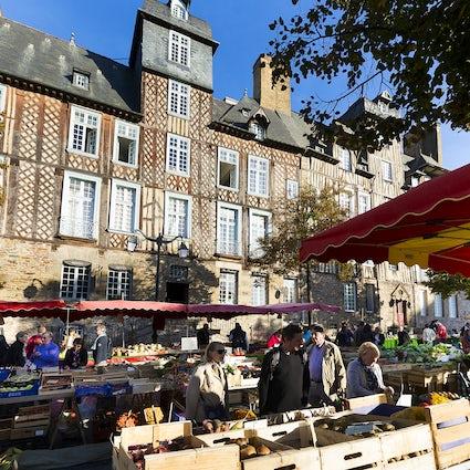 De Marché des Lices, de geweldige markt van Rennes