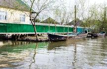 Vylkove, a Ukrainian city resembling Venice