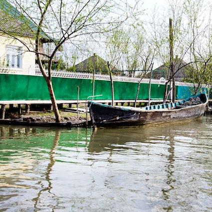 Vylkove, una ciudad ucraniana parecida a Venecia