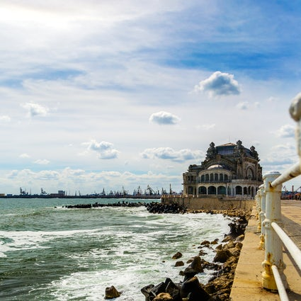 Must-sees in Constanța: The Casino and The Naval Shipyard