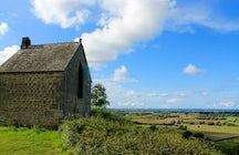 Mont-Dol, a legendary Breton village on a granite massif