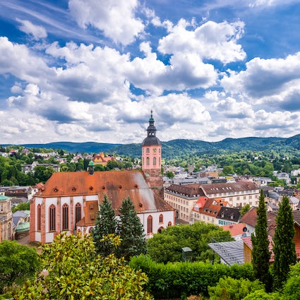 The city of spa: Baden-Baden!