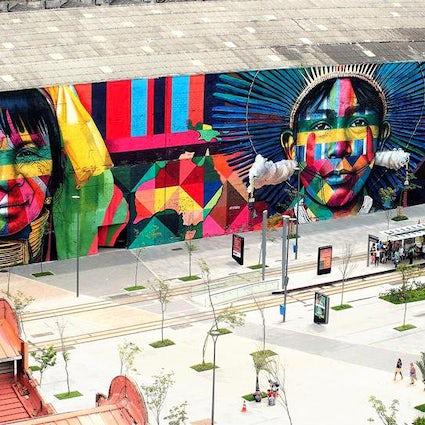 Los mejores lugares de arte callejero en Río de Janeiro