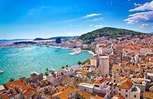 Split - una de las ciudades más bellas de Croacia