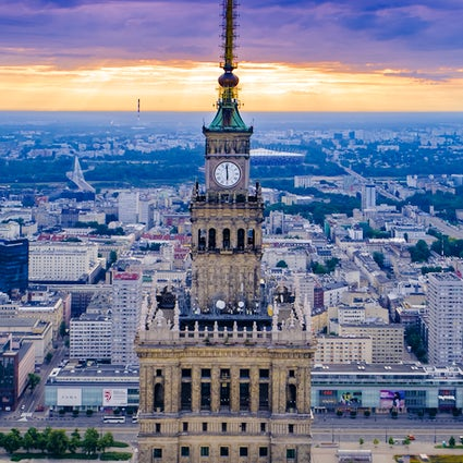 The ultimate rooftop experience of Warsaw