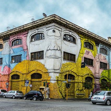 Rome, an open-air street art gallery
