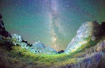 Mt. Kelinshektau: sleep under the Milky Way in South Kazakhstan