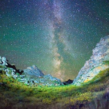 Mt. Kelinshektau: sleep under the Milky Way in South Kazakhstan