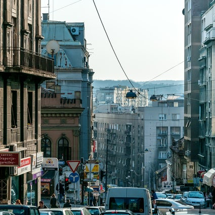 Balkanska Street, a warm welcome to Serbian capital