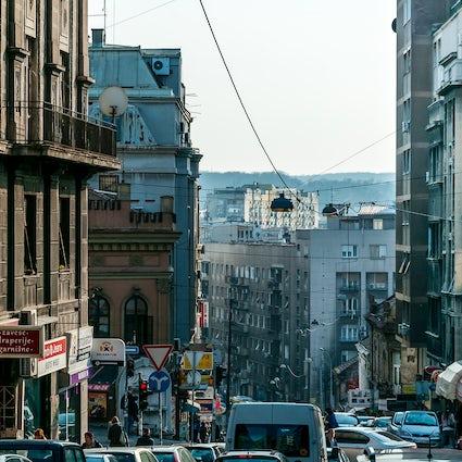 Balkanska Street, una cálida bienvenida a la capital serbia