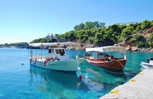 Crucero de un día en Sporades; Skiathos, Skopelos, Alonissos