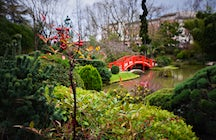 Japanese garden in Toulouse