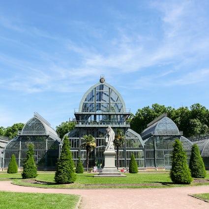 Parks und Gärten in Lyon: Tete d'Or