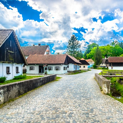 Kumrovec, Tito's birthplace and the most famous village in Croatia