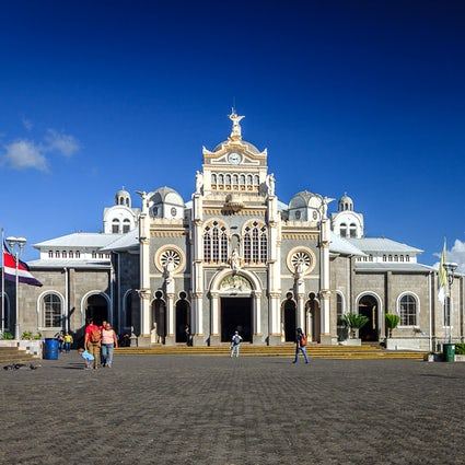 The annual pilgrimage to the Basilica of Cartago