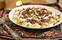 Piatti della cucina Azerbaigiana invernali