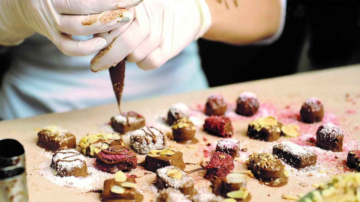 Chocolate Paradise in the city of Zsolnay porcelain