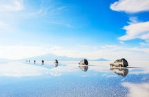 Uyuni Salt Flat - The world's biggest natural mirror