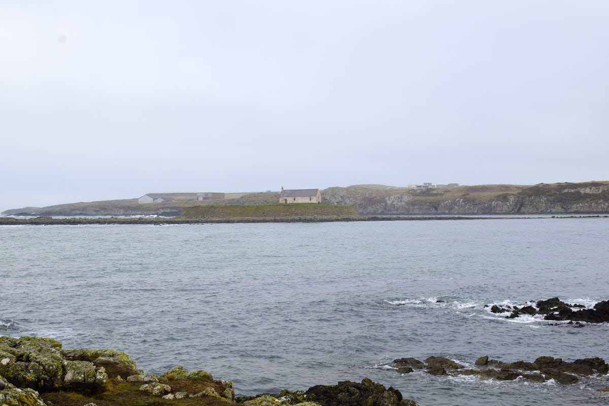 The church in the sea - Anglesey
