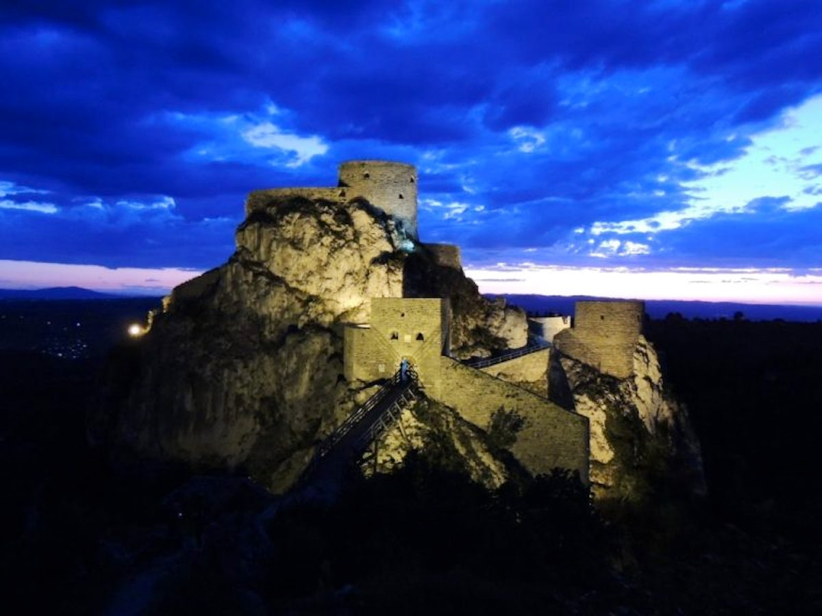 Birthplace of the first Bosnian king – Srebrenik Castle
