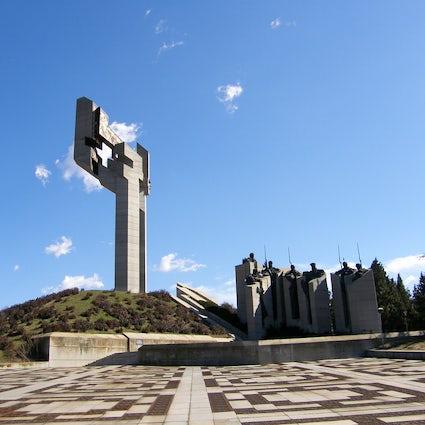 Socialist architectural masterpieces:  Defenders of Stara Zagora Memorial Complex