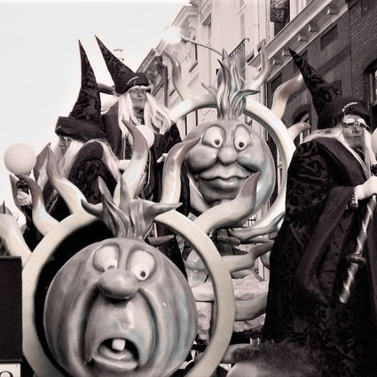 Carnival in Aalst, Belgium