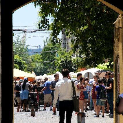 Un paseo por Alcántara - de la estación al río