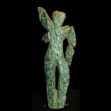 De oudste stenen voorstelling van een mens - Venus van Galgenberg