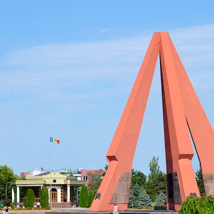 Eternitate Memorial Complex, the monument of military glory in Chisinau
