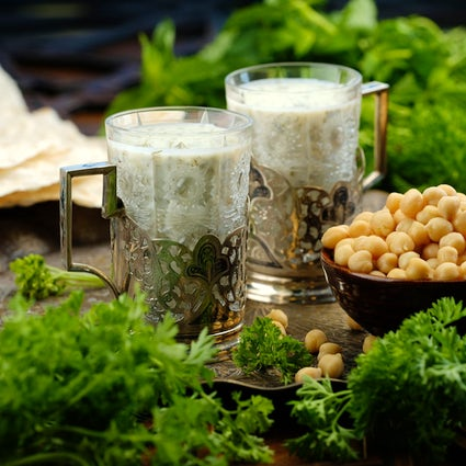 Taste the best drinks made of yoghurt in Azerbaijan: Dovga & Ayran