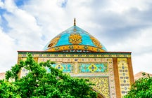 The eye-catching Blue Mosque of Yerevan