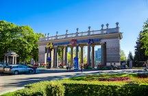 El parque más antiguo de Minsk: Parque Gorky