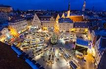 Mercado de Navidad de Tallinn - un paraíso invernal