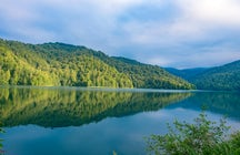 Beauty inside the forest – Lake Goygol