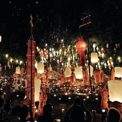 Wat Phan Tao, Chiang Mai: el templo de las linternas
