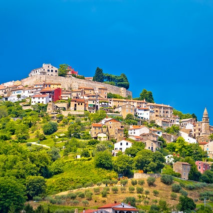 Four picturesque Istrian hilltop towns