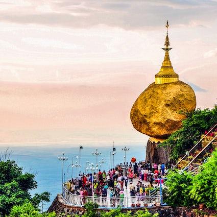 Kyaiktiyo Balancing Stupa: Der heiligste Schrein Myanmars