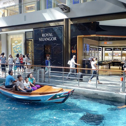 The most luxurious Shoppes in Singapore